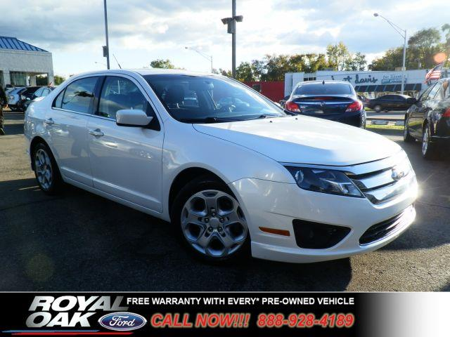 2010 FORD FUSION SE pearl white free royal shield warranty nicely equipped se with electronic