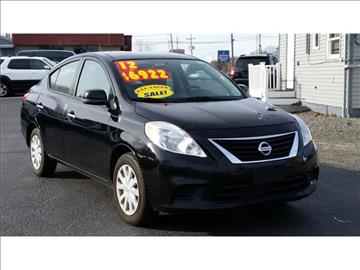 2012 Nissan Versa for sale in Toms River, NJ
