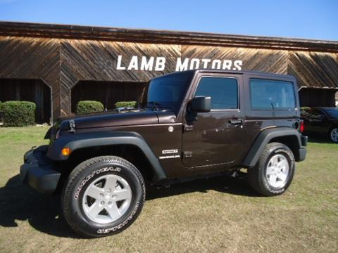 2013 Jeep Wrangler for sale in Hamilton, AL
