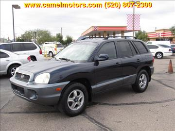 2004 Hyundai Santa Fe For Sale In Arizona Carsforsale Com