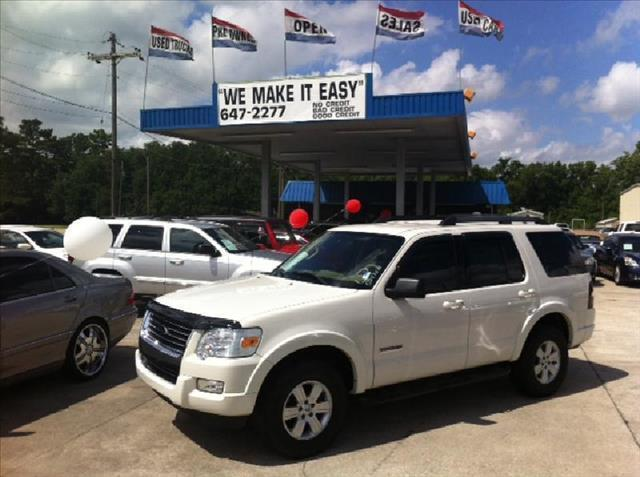2008 FORD EXPLORER RWD V6 XLT white driver air bag passenger air bag front side air bag front h