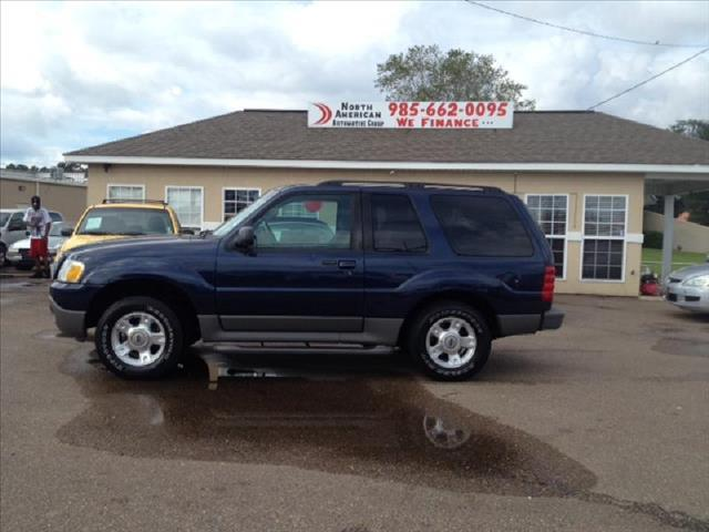 2003 FORD EXPLORER SPORT XLS MANUAL blue driver air bag passenger air bag ac amfm stereo cd