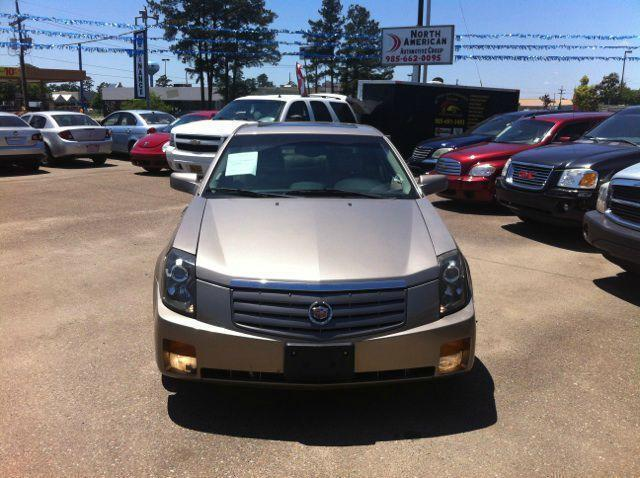 2003 CADILLAC CTS gold driver air bag passenger air bag front side air bag front head air bag