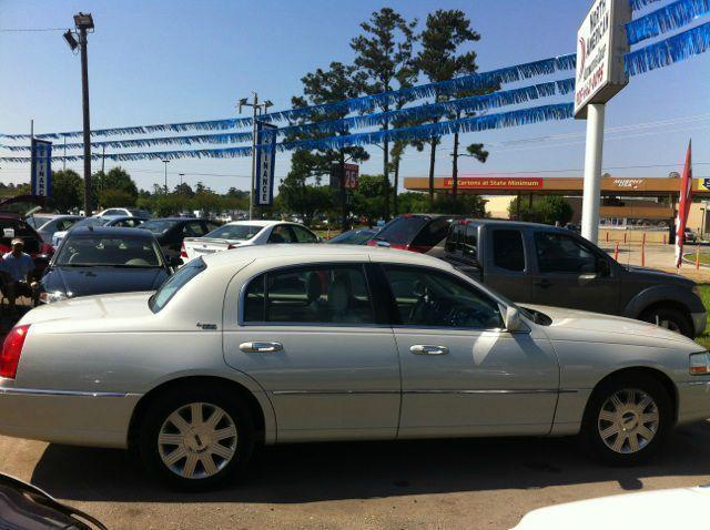 2005 LINCOLN TOWN CAR SIGNATURE LIMITED pewter driver air bag passenger air bag front side air b