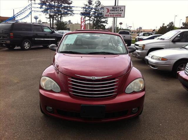 2006 CHRYSLER PT CRUISER ERTIBLE TOURING maroon driver air bag passenger air bag ac security s