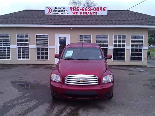 2009 CHEVROLET HHR FWD LT W1LT maroon driver air bag passenger air bag front head air bag rear