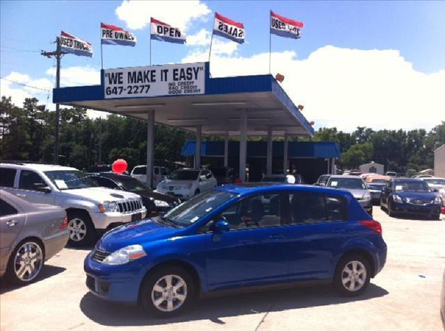 2008 NISSAN VERSA HB I4 MAN 18 SL blue driver air bag passenger air bag front side air bag fro