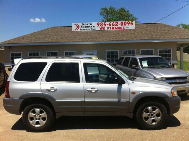 2002 MAZDA TRIBUTE 30L AUTO LX silver driver air bag passenger air bag front side air bag ac