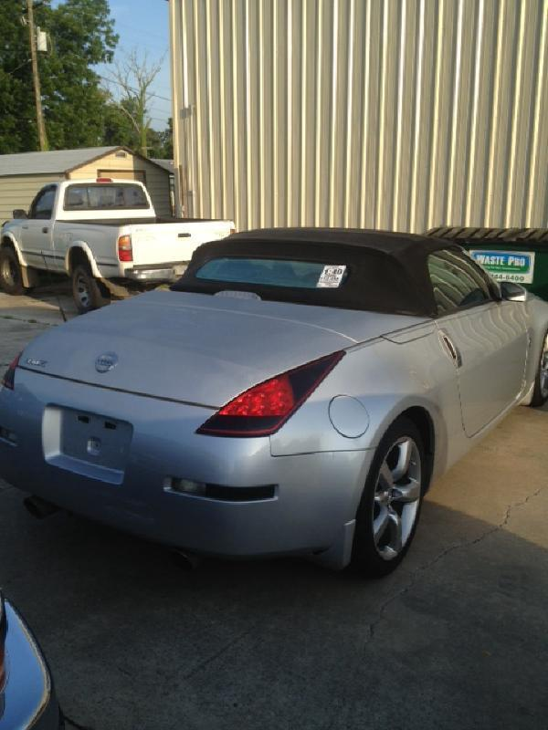 2006 NISSAN 350Z ROADSTER TOURING MANUAL silver driver air bag passenger air bag front side air