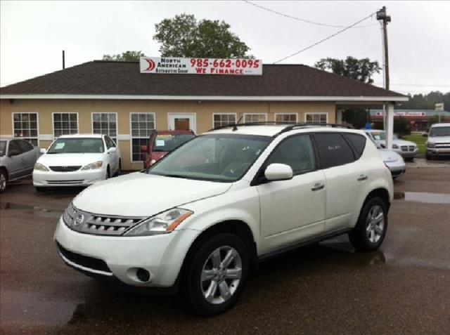 2007 NISSAN MURANO 2WD SL white driver air bag passenger air bag front side air bag front head