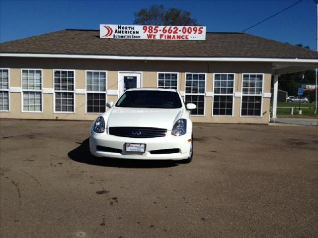 2007 INFINITI G35 MANUAL pearl driver air bag passenger air bag front side air bag front head a