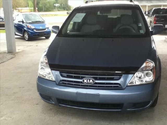 2008 KIA SEDONA SWB blue driver air bag passenger air bag front side air bag front head air bag