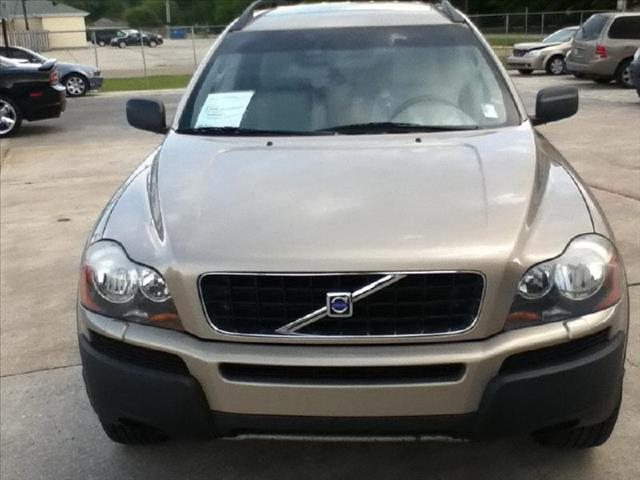 2004 VOLVO XC90 29L TWIN TURBO W3RD ROW tan driver air bag passenger air bag front side air ba