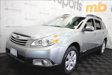 2011 Subaru Outback for sale in Asbury Park, NJ