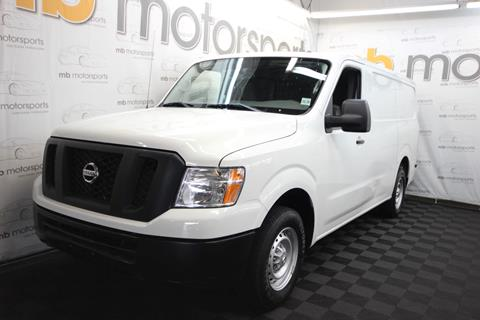 2016 Nissan NV Cargo for sale in Asbury Park, NJ