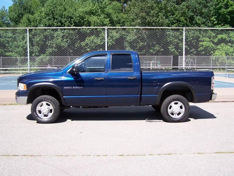 2003 dodge ram pickup 2500 slt 4x4 quad cab in derry nh. Black Bedroom Furniture Sets. Home Design Ideas