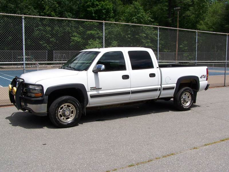 2002 chevrolet silverado 2500hd lt 4x4 crew cab in derry. Black Bedroom Furniture Sets. Home Design Ideas