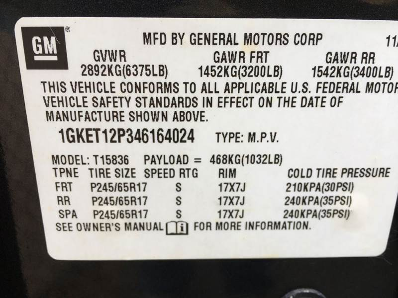2004 GMC Envoy XUV SLT 4WD 4dr SUV - Derry NH