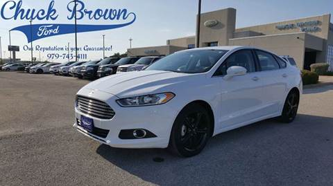 2016 Ford Fusion for sale in Schulenburg, TX
