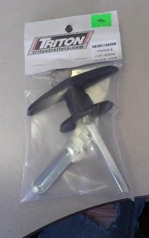 2014 Parts Triton T-handle & 2 5/8 locking cam paw