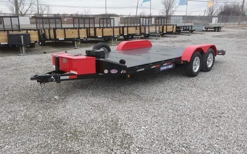 2017 Sure-Trac 7x18 7K Steel Deck Car Hauler