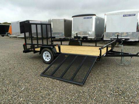 2015 Sure-Trac 6.5x12 with Side Ramp