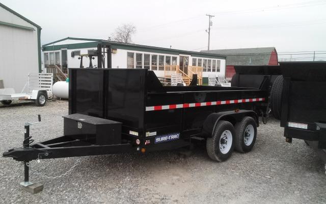 2014 Sure-Trac SD 6x12 10k Low Profile Dump