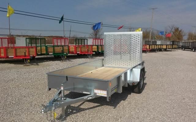 2015 Sure-Trac 5x10 Galvanized High Side Util
