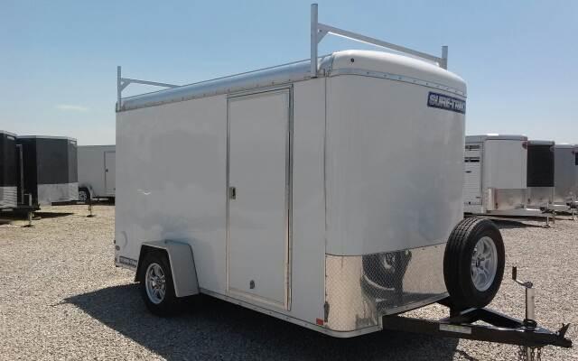 2015 Sure-Trac 6x12 Round Top Cargo