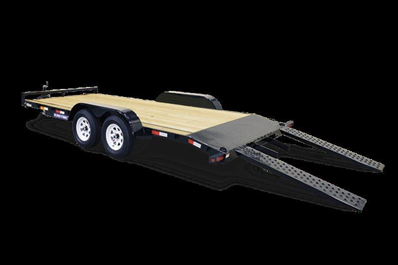 2018 Sure-Trac C-Channel Wood Deck Car Hauler