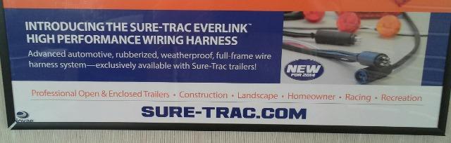 2014 Sure-Trac 8.5 x 20 + 5 HD 15K Deckover  - Carleton MI