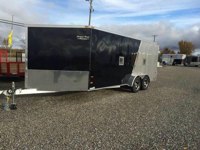2015 American Hauler 4 Place Aluminum Snowmobile Tr