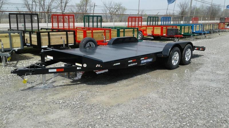 2017 Sure-Trac 20 10k Steel Deck Car Hauler
