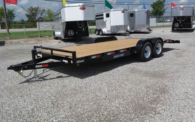 2015 Sure-Trac 20' 10K Wood Deck Car Hauler