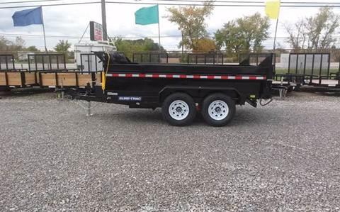 "2017 Sure-Trac 82"" x 12 12k Dual Ram Dump"