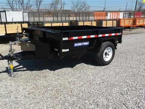 2016 Sure-Trac 5x8 Low Profile Dump