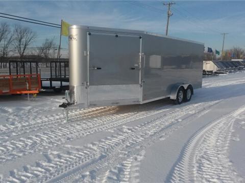 2017 ATC 3 Place Aluminum Snow Trailer