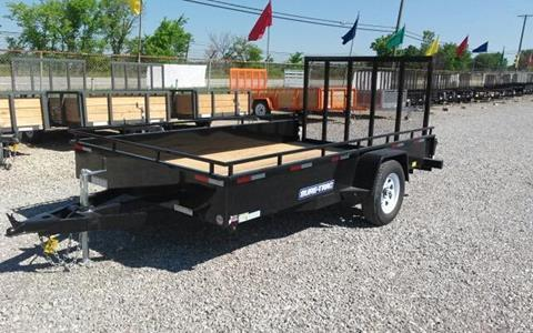 2017 Sure-Trac 7 x 12 Steel Side