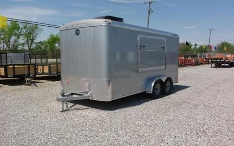 2017 Wells Cargo Road Force 7X16 w/Weekender Pa