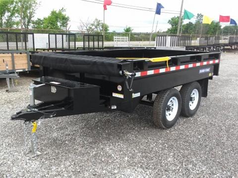 2016 Sure-Trac 6 x 10 10K Deck Over Dump