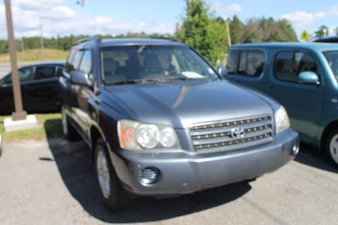 2003 Toyota Highlander for sale in Waycross, GA