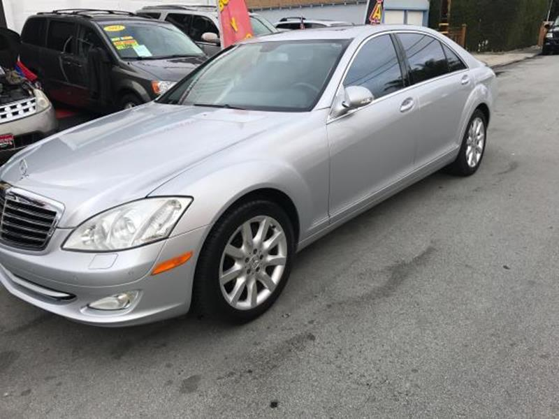2007 MERCEDES-BENZ S-CLASS S 550 4DR SEDAN silver this is a beautiful silver 2007 mercedes-benz s
