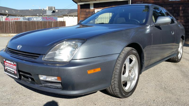 1998 HONDA PRELUDE BASE 2DR COUPE green this is a green 1998 honda prelude 2 door coupe 4 speed a