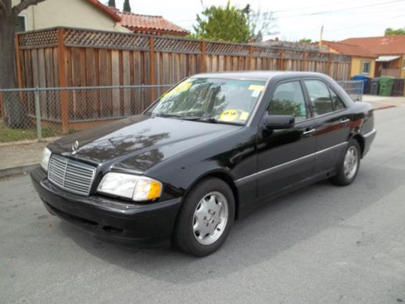 2000 MERCEDES-BENZ C-CLASS C230 SUPERCHARGED 4DR SEDAN black this is a black 2000 mercedes-benz c-
