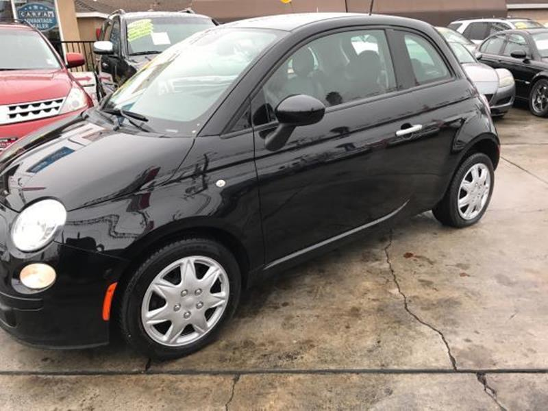 2014 FIAT 500 POP 2DR HATCHBACK black this is a beautiful black 2014 fiat 500 2 door hatchback au