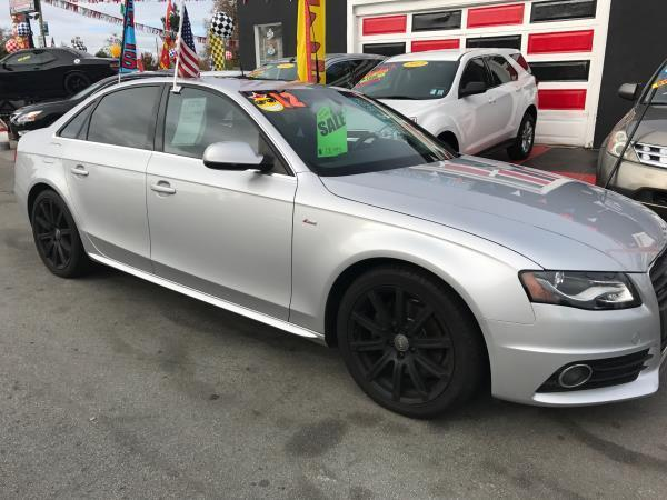 2012 AUDI A4 20T QUATTRO PREMIUM PLUS AWD 4D silver this is a beautiful silver 2012 audi a4 4 do