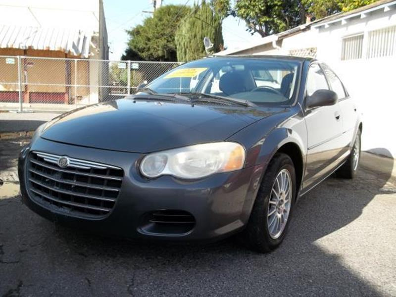 2005 CHRYSLER SEBRING TOURING grey this is a beautiful grey 2005 chrysler sebring 4 door sedan au