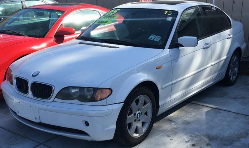 2005 BMW 3 SERIES 325I 4DR SEDAN white this is a white 2005 bmw 3 series 4 door sedan automatic l6