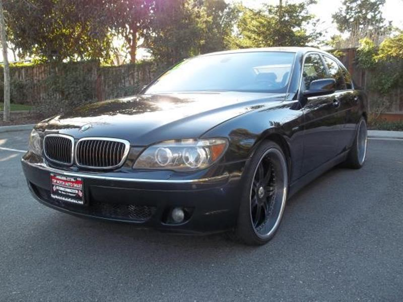 2006 BMW 7 SERIES 750I 4DR SEDAN black this is a beautiful black 2006 bmw 7 series 4 door sedan a