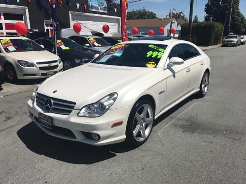 2008 MERCEDES-BENZ CLS CLS 63 AMG 4DR SEDAN white this is a beautiful white 2008 mercedes-benz cls